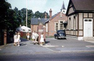 Church School Shortmead Street 1957