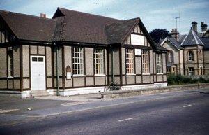 Memorial hall Shortmead Street 1957